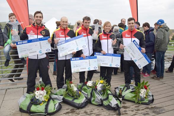 Qualifikationen im Kanu-Slalom: Olympia-Team für Rio steht fest