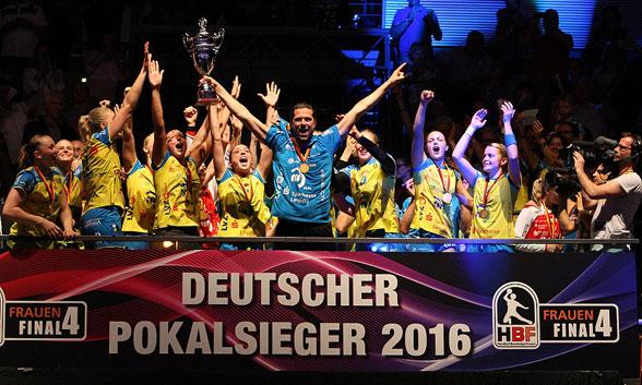 Glückwunsch: HC-Leipzig ist neuer Pokalsieger
