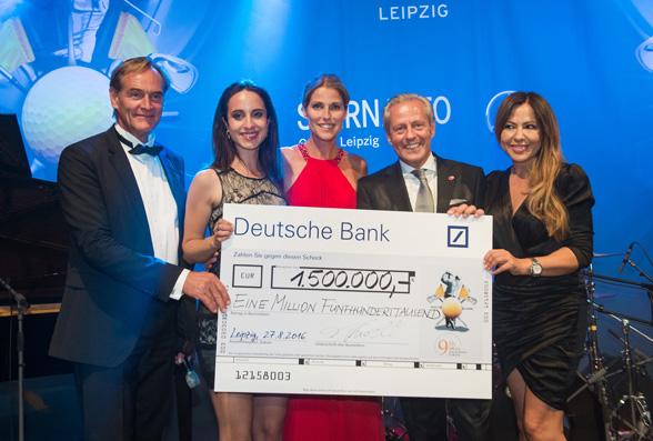 Neuer Spendenrekord beim GRK Golf Charity Masters Leipzig