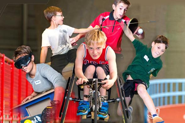TalentTage 2017 in Leipzig: Sportangebote für Kinder und Jugendliche mit Behinderung