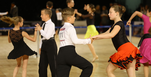 Tanz-WM der Lateinprofis am 21. Oktober auf der Leipziger Messe: