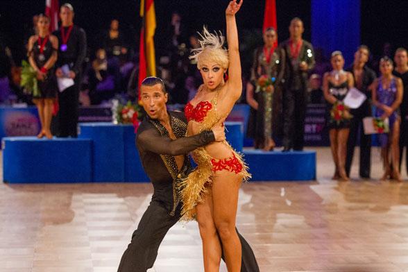Tanz-WM der Lateinprofis auf der Leipziger Messe