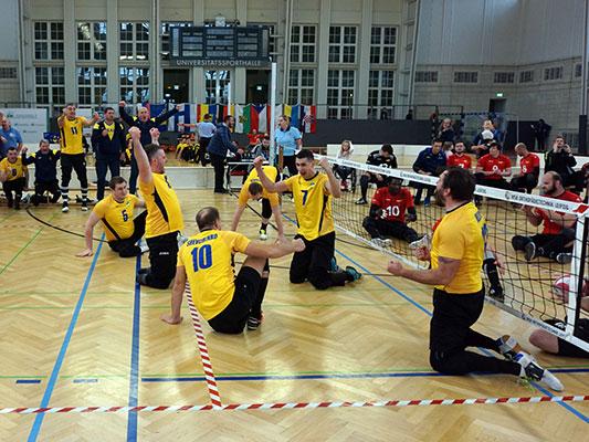 Bosnier triumphieren beim 13. LE-Cup im Sitzvolleyball