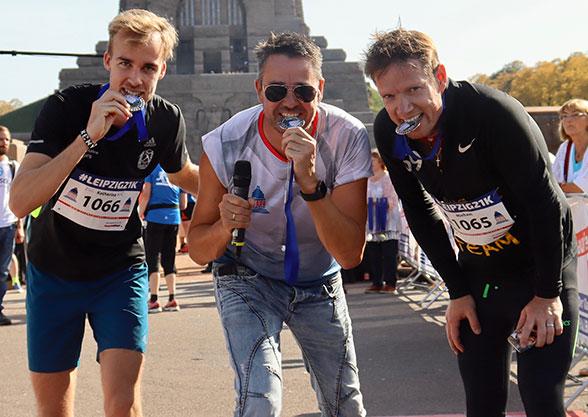 """Marathon """"Wir laufen für Euch"""" mit Roman Knoblauch und Michael Fischer-Art"""